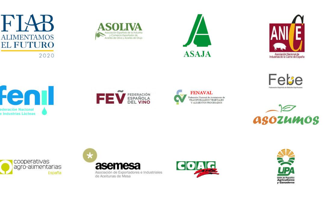 El sector agroalimentario español se une frente a los aranceles de EEUU