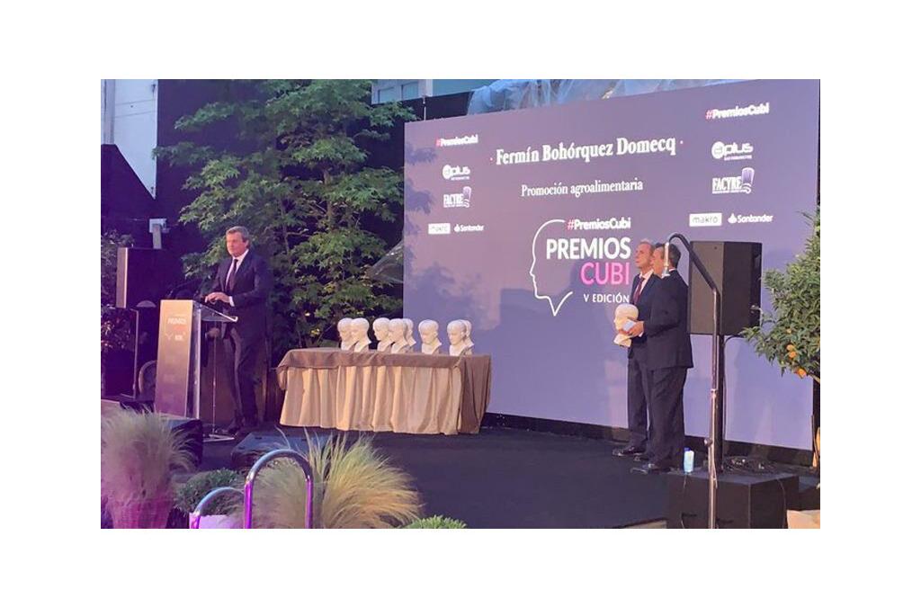 Alianza Rural ha sido galardonada con el premio CUBI otorgado por la Federación de Cocineros y Reposteros de España (FACYRE)